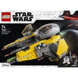 75281 JEDI INTERCEPTOR ANAKINA (Anakin's Jedi Interceptor) - KLOCKI LEGO STAR WARS  Dla Dzieci
