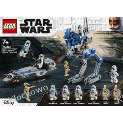 75280 ŻOŁNIERZE KLONY Z 501 LEGIONU (501st Legion Clone Troopers) - KLOCKI LEGO STAR WARS  Dla Dzieci
