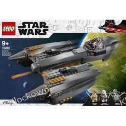 75286 GWIEZDNY MYŚLIWIEC GENERAŁA GRIEVOUSA(General Grievous's Starfighter) - KLOCKI LEGO STAR WARS  Friends