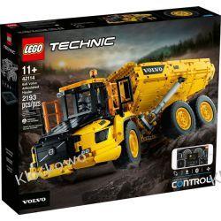 42114 WOZIDŁO PRZEGUBOWE VOLVO 6X6 (6x6 Volvo Articulated Hauler) KLOCKI LEGO TECHNIC Dla Dzieci
