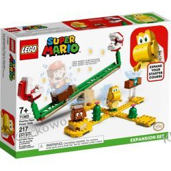 71365 MEGAZJEŻDŻALNIA PIRANHA PLANT - ZESTAW ROZSZERZAJĄCY (Piranha Plant Power Slide) - KLOCKI LEGO SUPER MARIO Dla Dzieci