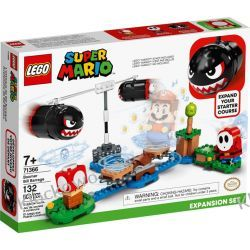 71366 OSTRZAŁ BANZAL BILL - ZESTAW ROZSZERZAJĄCY  (Boomer Bill Barrage) - KLOCKI LEGO SUPER MARIO Zabawki
