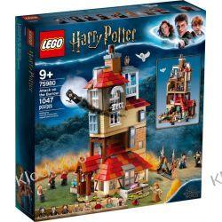 75980 ATAK NA NORĘ (Attack on The Burrow) KLOCKI LEGO HARRY POTTER Playmobil