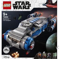 75293 POJAZD TRANSPORTOWY (Resistance I-TS Transport) - KLOCKI LEGO STAR WARS  Dla Dzieci