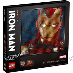 31199 MARVEL STUDIOS IRON MAN - KLOCKI LEGO ART