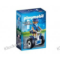 PLAYMOBIL 6877 POLICJANTKA NA BALANCE-RACER