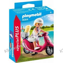 PLAYMOBIL 9084 PLAŻOWICZKA NA SKUTERZE Dla Dzieci