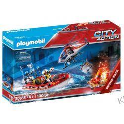 PLAYMOBIL 70335 JEDNOSTKA STRAŻY POŻARNEJ Z HELIKOPTEREM Playmobil