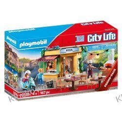 PLAYMOBIL 70336 PIZZERIA Z OGRÓDKIEM RESTAURACYJNYM Playmobil