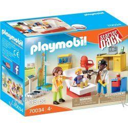 PLAYMOBIL 70034 STARTERPACK LEKARZ DZIECIĘCY Dla Dzieci