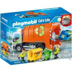 PLAYMOBIL 70200 ŚMIECIARKA Dla Dzieci