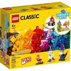 11013 KREATYWNE PRZEZROCZYSTE KLOCKI (Creative Transparent Bricks) KLOCKI LEGO CLASSIC Dla Dzieci