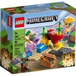 21164 RAFA KORALOWA (The Coral Reef)- KLOCKI LEGO MINECRAFT Dla Dzieci