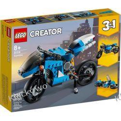 31114 SUPERMOTOCYKL (Super Motor Bike) KLOCKI LEGO CREATOR Dla Dzieci