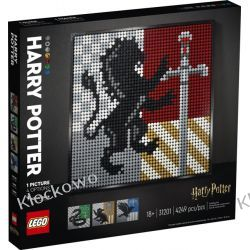 31201 HARRY POTTER HERBY HOGWARTU (Harry Potter Hogwarts Crests) - KLOCKI LEGO ART Playmobil