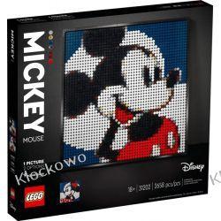 31202 Disney's Mickey Mouse - KLOCKI LEGO ART Dla Dzieci