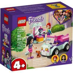 41439 OBJAZDOWY SALON  PIELĘGNACJI KOTÓW (Cat Grooming Car) KLOCKI LEGO FRIENDS Dla Dzieci