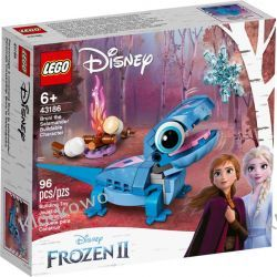 43186 SALAMANDRA BRUNI DO ZBUDOWANIA (Bruni the Salamander Buildable Character) - KLOCKI LEGO DISNEY PRINCESS Dla Dzieci