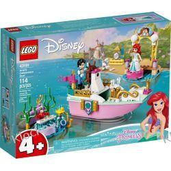 43191 ŚWIĄTECZNA ŁÓDŹ ARIELKI (Ariel's Celebration Boat) KLOCKI LEGO DISNEY PRINCESS Dla Dzieci