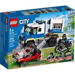 60276 POLICYJNY KONWÓJ WIĘZIENNY (Police Prisoner Transport) KLOCKI LEGO CITY Pociąg