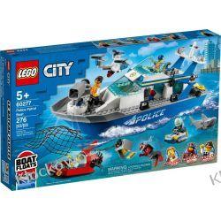 60277 POLICYJNA ŁÓDŹ PATROLOWA (Police Patrol Boat) KLOCKI LEGO CITY Kompletne zestawy