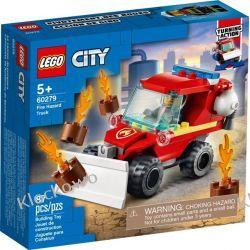 60279  MAŁY WÓZ STRAŻACKI (Fire Hazard Truck) KLOCKI LEGO CITY Dla Dzieci