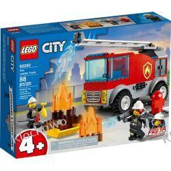 60280 WÓZ STRAŻACKI Z DRABINĄ (Fire Ladder Truck) KLOCKI LEGO CITY Dla Dzieci