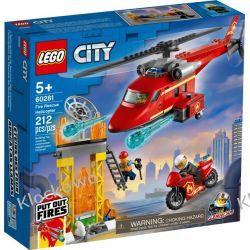 60281 STRAŻACKI HELIKOPTER RATUNKOWY (Fire Rescue Helicopter) KLOCKI LEGO CITY Dla Dzieci