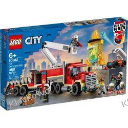60282 STRAŻACKA JEDNOSTKA DOWODZENIA (Fire Command Unit) KLOCKI LEGO CITY Dla Dzieci