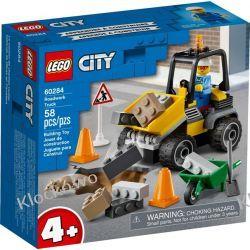 60284 POJAZD DO ROBÓT DROGOWYCH (Roadwork Truck) KLOCKI LEGO CITY Dla Dzieci
