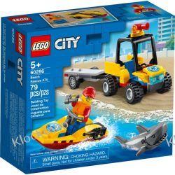 60286 PLAŻOWY QUAD RATUNKOWY (Beach Rescue ATV) KLOCKI LEGO CITY Dla Dzieci