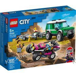 60288 TRANSPORTER ŁAZIKA WYŚCIGOWEGO (Race Buggy Transporter) KLOCKI LEGO CITY Dla Dzieci