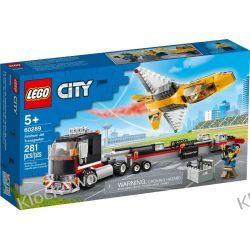 60289 TRANSPORTER ODRZUTOWCA POKAZOWEGO (Airshow Jet Transporter) KLOCKI LEGO CITY Dla Dzieci