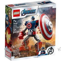 76168 OPANCERZONY MECH KAPITANA AMERYKI (Captain America Mech Armor) - KLOCKI LEGO SUPER HEROES Dla Dzieci