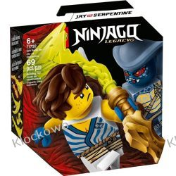 71732 EPICKI ZESTAW BOJOWY JAY KONTRA SERPENTINE (Epic Battle Set - Jay vs. Serpentine) KLOCKI LEGO NINJAGO Playmobil