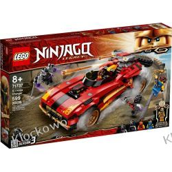 71737 NINJAŚCIGACZ X-1 (X-1 Ninja Charger) KLOCKI LEGO NINJAGO Kompletne zestawy