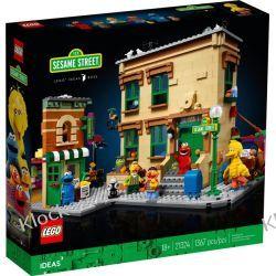 21324 ULICA SEZAMKOWA (123 Sesame Street) - KLOCKI LEGO EXCLUSIVE Dla Dzieci
