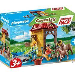 PLAYMOBIL 70501 STARTER PACK STADNINA KONI Dla Dzieci