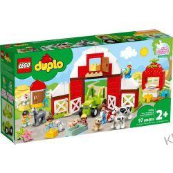 10952 STODOŁA, TRAKTOR I ZWIERZĘTA GOSPODARSKIE (Barn, Tractor & Farm Animal Care) KLOCKI LEGO DUPLO Dla Dzieci