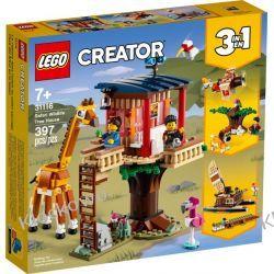 31116 DOMEK NA DRZEWIE NA SAFARI (Safari Wildlife Tree House) KLOCKI LEGO CREATOR Minifigures