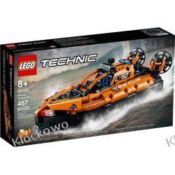 42120 PODUSZKOWIEC RATOWNICZY (Rescue Hovercraft) KLOCKI LEGO TECHNIC  Kompletne zestawy