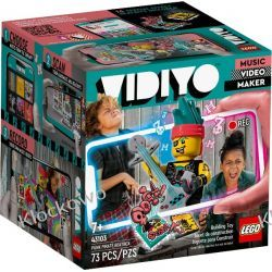 43103 PUNK PIRATE BEATBOX KLOCKI LEGO VIDIYO