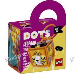 41929 ZAWIESZKA Z LEOPARDEM (Bag Tag Leopard) KLOCKI LEGO DOTS Dla Dzieci