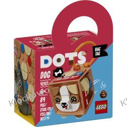 41927 ZAWIESZKA Z PSEM (Bag Tag Dog) KLOCKI LEGO DOTS Dla Dzieci
