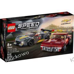 76903  Chevrolet Corvette C8.R Race Car and 1968 Chevrolet Corvette KLOCKI LEGO SPEED CHAMPIONS Racers
