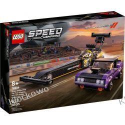76904 Mopar Dodge//SRT Top Fuel Dragster and 1970 Dodge Challenger T/A KLOCKI LEGO SPEED CHAMPIONS Racers