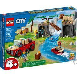 60301 TERENÓWKA RATOWNIKÓW DZIKICH ZWIERZĄT (Wildlife Rescue Off-Roader) KLOCKI LEGO CITY City
