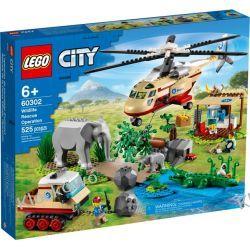 60302 NA RATUNEK DZIKIM ZWIERZĘTOM (Wildlife Rescue Operation) KLOCKI LEGO CITY City