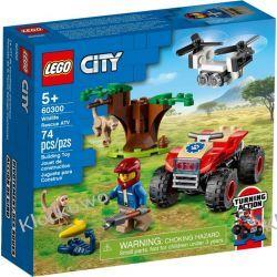 60300 QUAD RATOWNIKÓW DZIKICH ZWIERZĄT (Wildlife Rescue ATV) KLOCKI LEGO CITY City