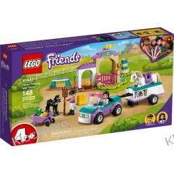 41441 SZKÓŁKA JEŹDZIECKA I PRZYCZEPA DLA KONIA (Horse Training and Trailer) KLOCKI LEGO FRIENDS Friends
